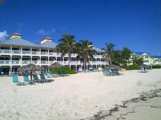Morritts Tortuga Club and Resort : Looking at where we stayed Wealdstone block top floor