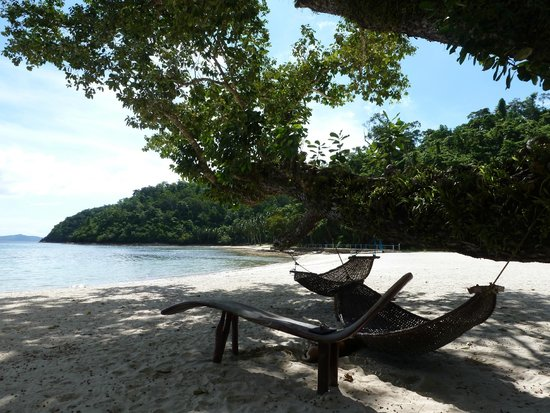 Secret Paradise Resort & Turtle Sanctuary : Main beach