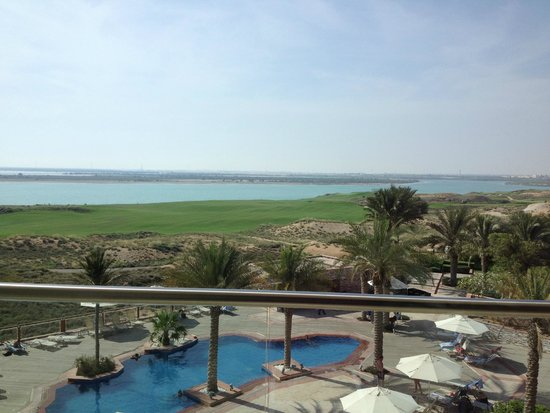 Park Inn by Radisson Abu Dhabi Yas Island: balcony view