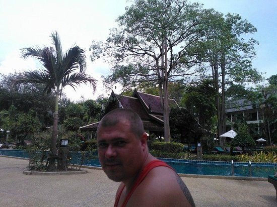 Green Park Resort: бассейн вокруг бара