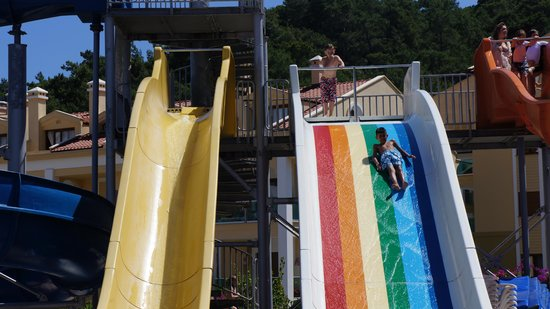 Green Nature Resort & Spa: Slides