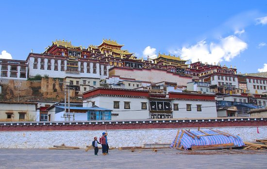 Sumtsaling Monastery: Impressionnant...