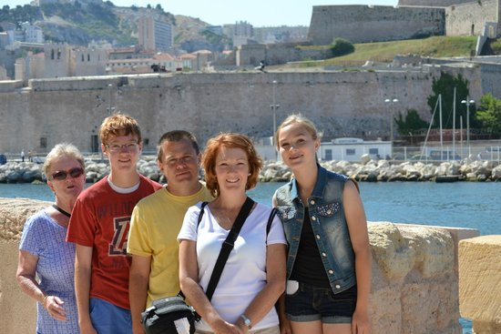Marseille Provence Greeters - Private Tours: view at Fort Saint-Jean