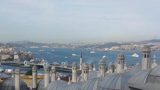 Views from Suleymaniye Mosque