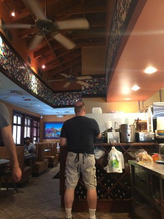 Barnaby's Cafe: Cool kitchen