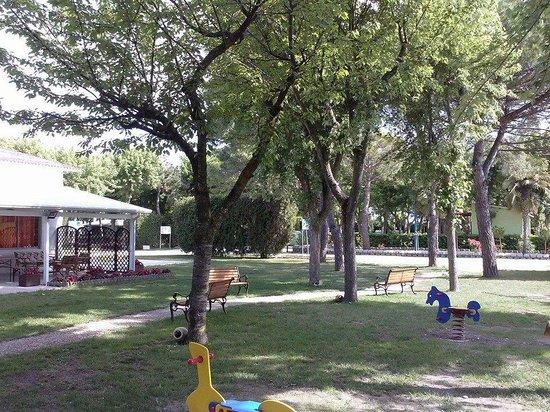 Green Camping Altanea : parco