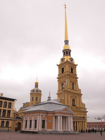 Peter and Paul Cathedral : .