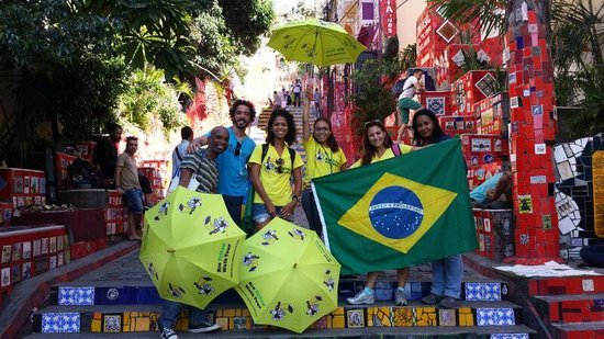 Rio Free Walking Tour guides