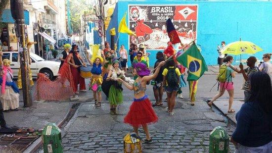 Rio Free Walking Tour: Escadaria Selaron