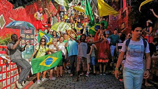 Rio Free Walking Tour: Because I am happy....