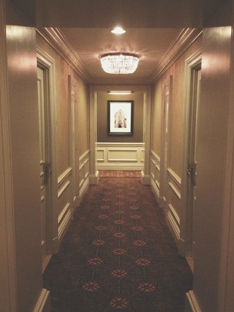 Omni William Penn Hotel: Hallway
