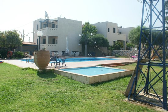 Kritzas Beach Bungalows & Suites: Poolbereich