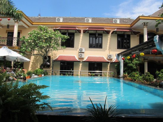 Huy Hoang Garden Hotel : The wonderful pool