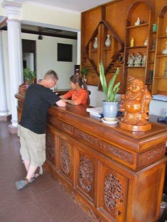 Huy Hoang Garden Hotel : Reception