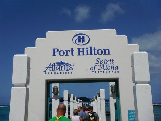 Atlantis Submarines Waikiki: entrance