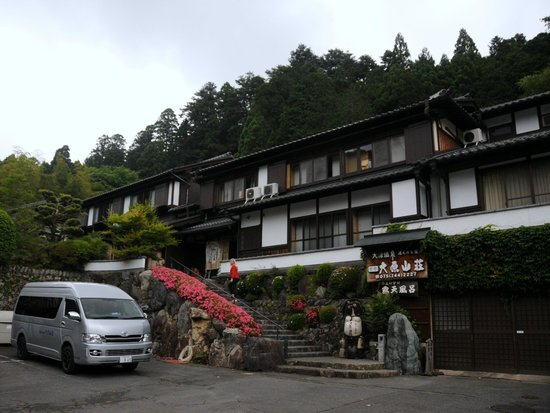 Ohara Sanso: Front of the hotel