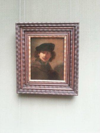 Gemäldegalerie: Автопортрет Рембрандта