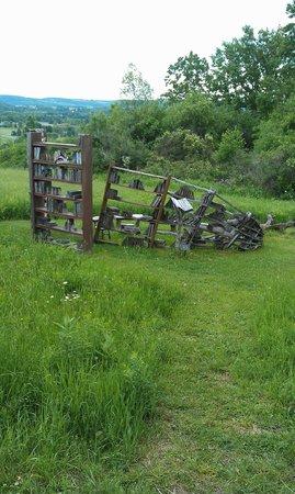 Stone Quarry Hill Art Park: sculpture