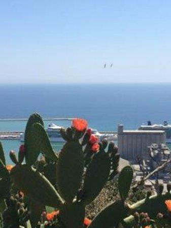 Hotel Miramar Barcelona: sea view