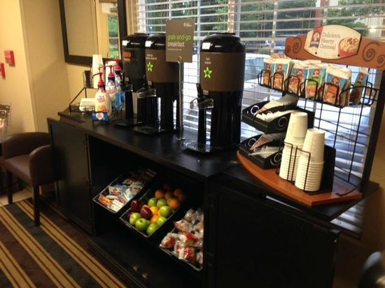Extended Stay America - Portland - Beaverton: Grab & Go or Grab & Get Out?  Very limited selection