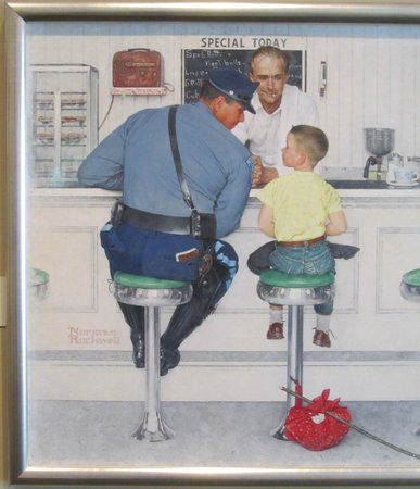 Norman Rockwell Museum: The Runaway