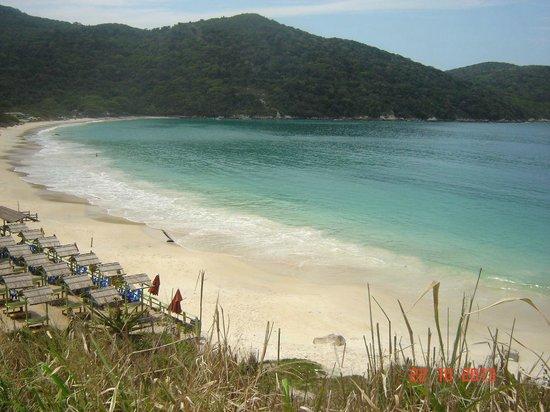 Pousada Mar Dos Anjos: Praia próxima a pousada