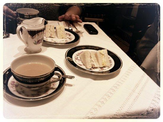 """Babingtons English Tea Room: La prima """"portata"""""""