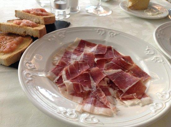 Piscis Restaurant: Jamon Iberico