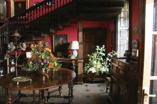 Dalemain Mansion & Historic Gardens: The Entrance Hall at Dalemain Mansion