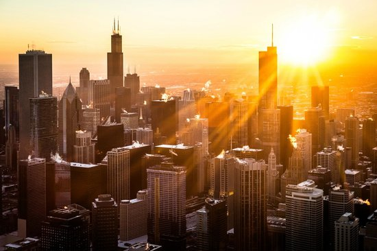 Chicago Helicopter Experience: Sunset Tour