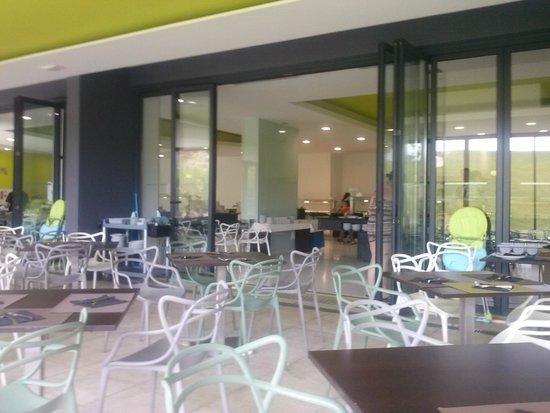 Alvor Baia Hotel Apartamento: comedor