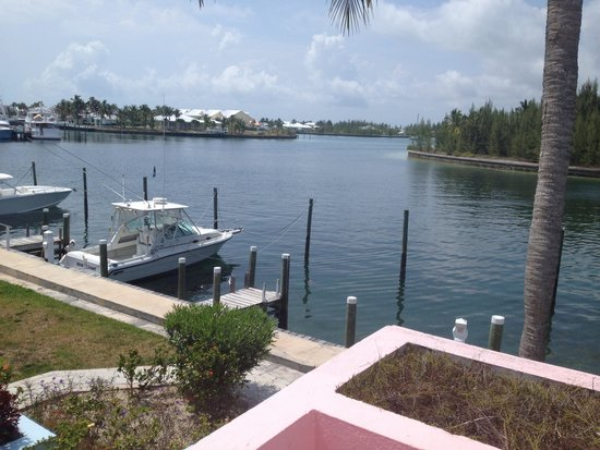 Treasure Cay Beach, Marina & Golf Resort : View from our 1 BR condo