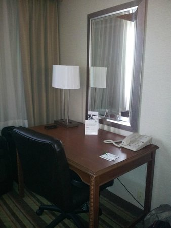 Holiday Inn Buena Park Hotel & Conference  Center: table for paper work