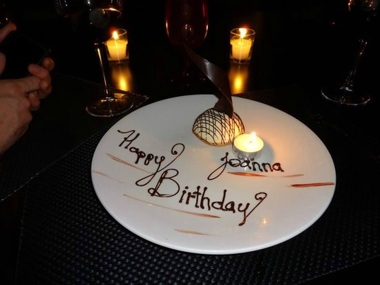 ME Cancun: Birthday suprise from Restaurant