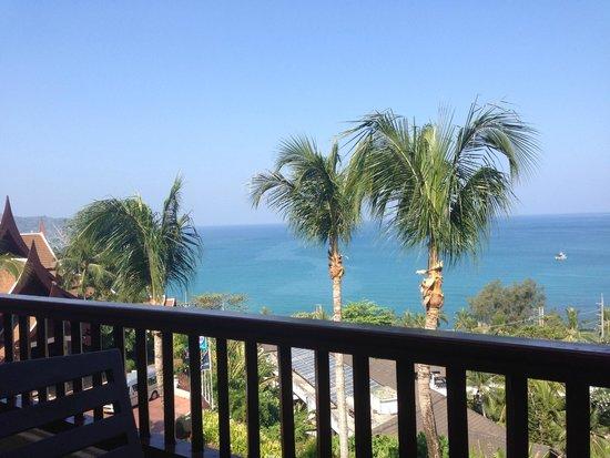 Novotel Phuket Resort: Utsikt från balkongen.
