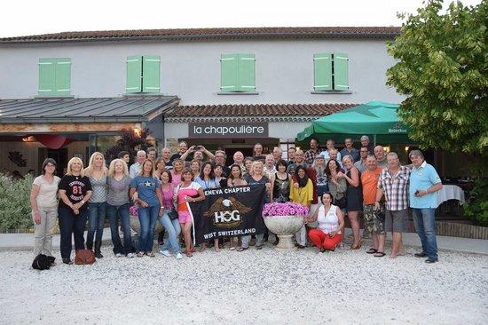 La Chapouliere Hotel : Geneva Chapter West Switzerland visiting La Chapouliere