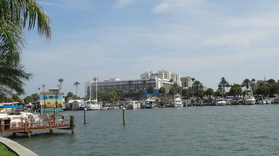 Sea Captain Resort on the Bay: View from the Sea Captain Clearwater Beach