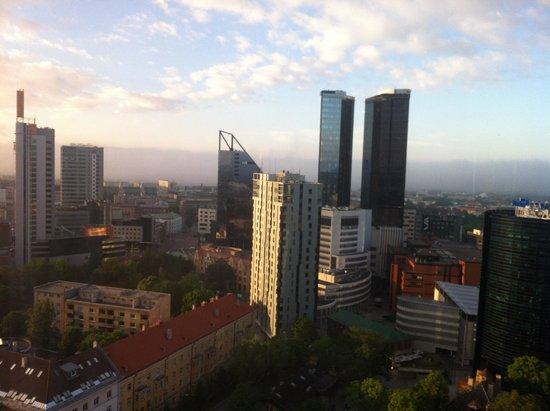 Radisson Blu Hotel Olumpia: Tallin from 21st floor