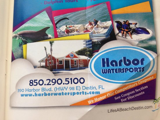 Harbor Watersports: Black and white!!! Poor management that is unprofessional and rude