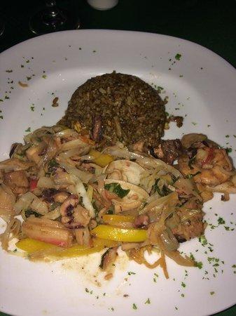 Cofresi Palm Beach & Spa Resort: Asian - Seafood Chow Mein