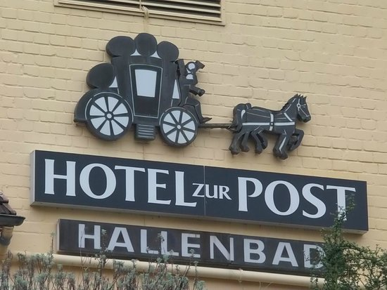 Hotel zur Post: Label