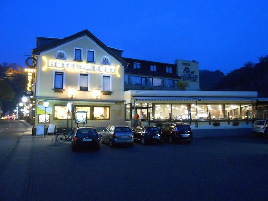 Hotel zur Post: Avondverlichting
