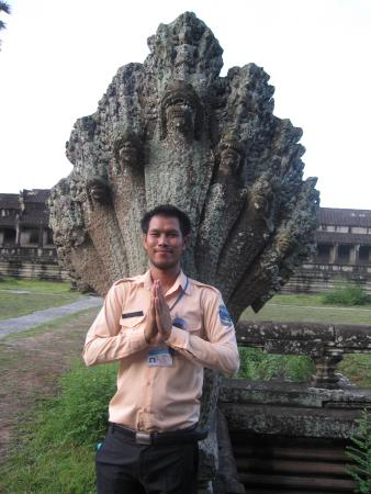Siem Reap Private Day Tours: Rare photo of Jet. He seldom gets to take photos