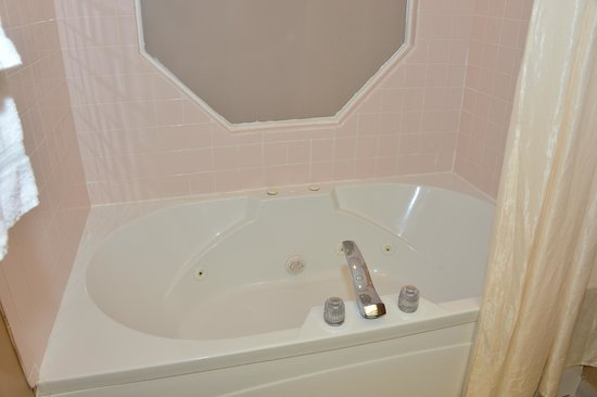 Best Western Plaza Hotel Saugatuck: spa tub...