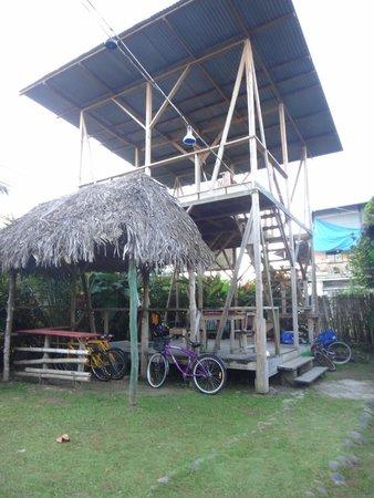 Hostal Mar e Iguana: Área recreativa