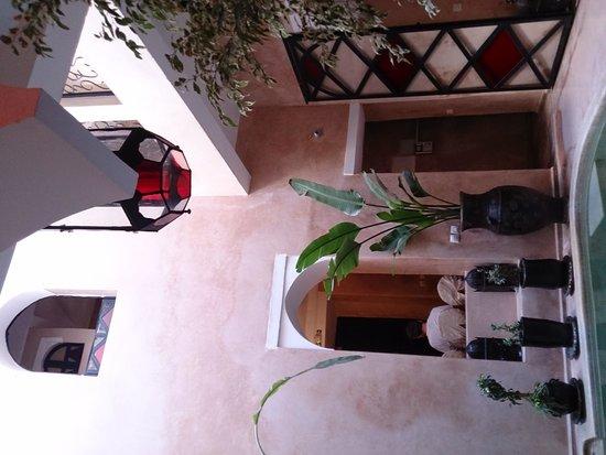 Riad Le Rubis: 宿の共有スペース
