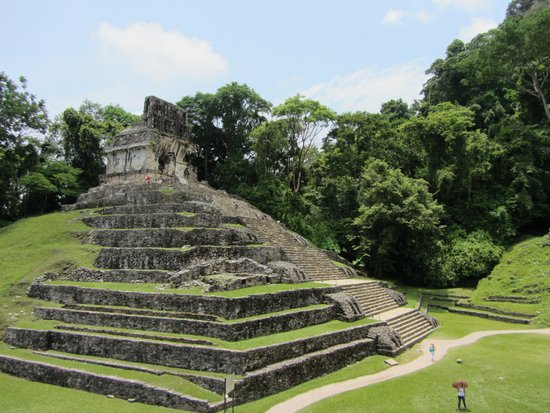 Palenque ruinas: Temple of the Cross