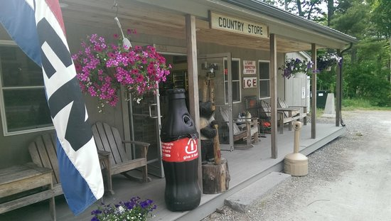 Cook's Landing: Cooks Landing porch