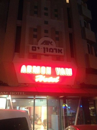 Armon Yam Hotel : entrance