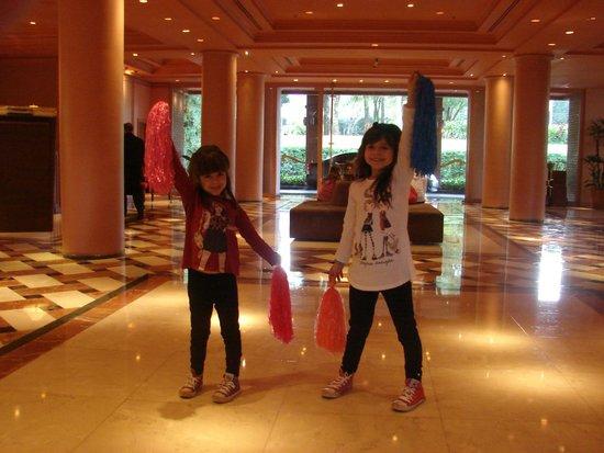 Iguazu Grand Resort, Spa & Casino: Muy cómodo Lobby.